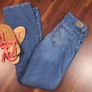 Levi's 526 Slender Boot Cut Jeans Womens Sz 4